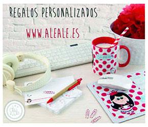regalos personalizados aleale.es